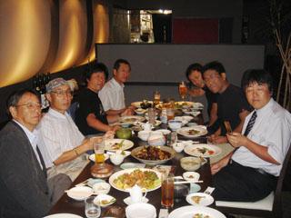 20070620一艸亭・自転車の会