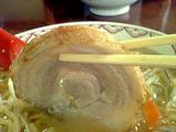 「リッキー」ごま味噌チャーシュー麺UP2
