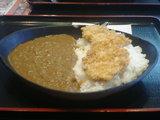 「日の出食堂」カツカレー