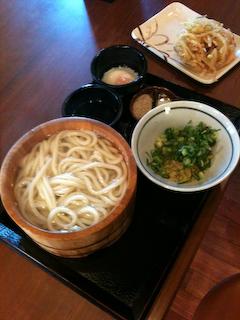 「丸亀製麺」まる得釜揚げ(釜玉)