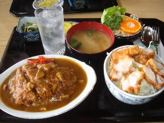「びっき石」丼丼セット