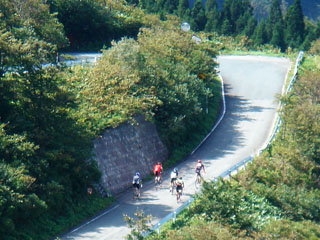 2070922もりくまツーリング笹谷峠1