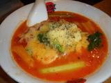 「太陽のトマト麺」太陽のチーズラーメン