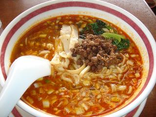 「福来苑」坦々麺