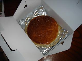 「季分屋」チーズケーキ