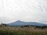 とうかいサイクリング秋篇2日目_由利高原から望む鳥海山