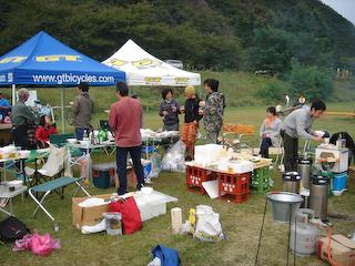 りんくま芋煮会2