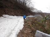 20090424鍋越峠ツーリング_残雪