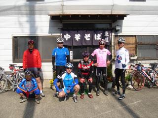 20070429桜回廊ツーリング集合