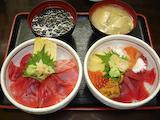 「たかいち」海鮮丼&まぐろ丼