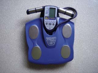 体脂肪計付体重計