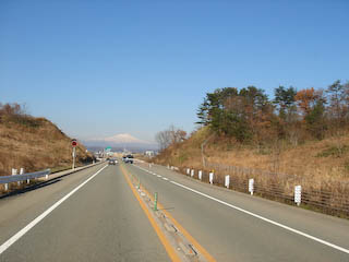 R13から見える鳥海山