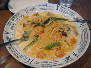 小海老のクリームスパゲティ