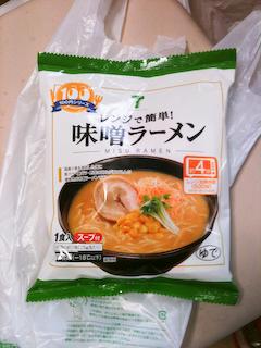 7-11冷凍味噌ラーメン
