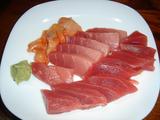 マグロと赤貝