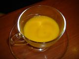 人参と生姜の冷製スープ
