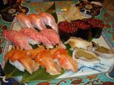 「一艸亭」つや姫の握り寿司