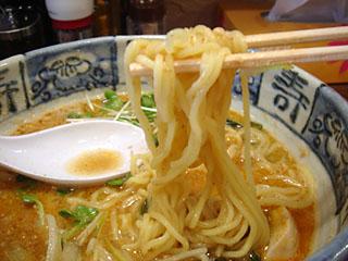 ごま醤油麺UP