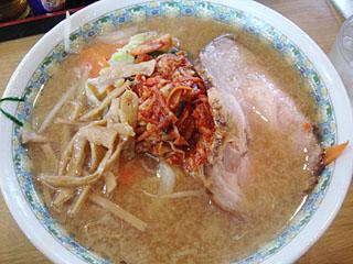 醤油亭_キムチみそラーメン