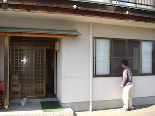 「民宿武蔵」外観