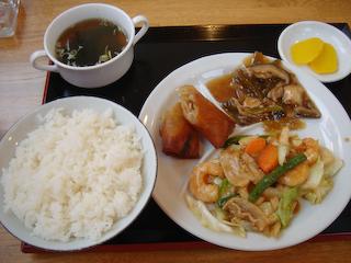 「桃李」日替わりランチ定食