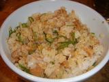 「太陽のトマト麺」鶏めし2