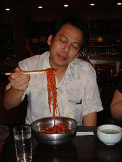 ビビン麺_秋葉先生