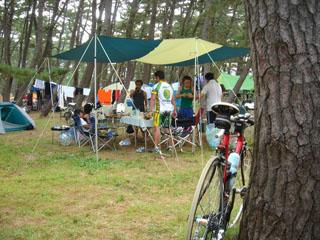 ベースキャンプの様子2