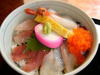 「うず潮」海鮮丼UP