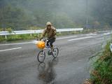 とうかいサイクリング秋篇3日目_雨中走行の隊長
