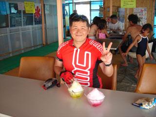 浜茶屋でカキ氷_yahapooh