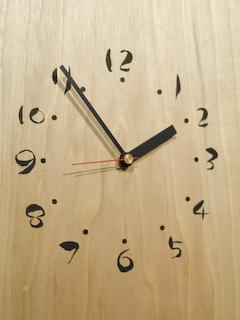 モク壁掛け時計UP