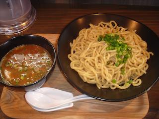 「麺匠ごとう」極旨濃厚醤油つけ麺
