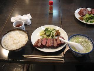 「利久泉本店」極1.5人前定食