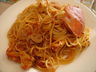 メルカート_ワタリガニのスパゲティー