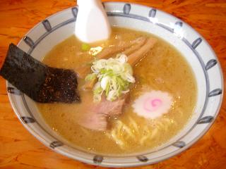 麺武者ラーメン