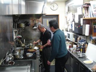 「PetitNoel」臨時男の料理教室