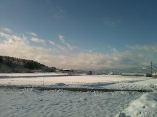 091215尾花沢市雪景色