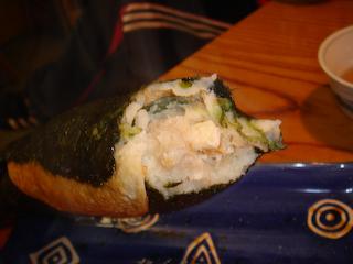 「coco夢や」どんどん焼き高菜海苔UP