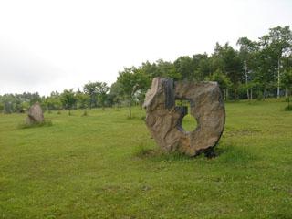 安比高原の石