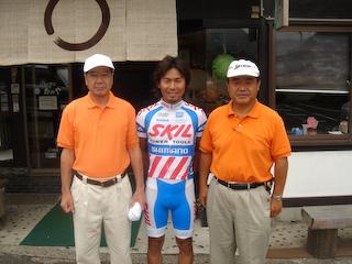 doiちゃんツーリング5遠藤前代議士と山本天童市長