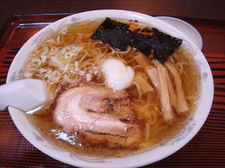 葵食堂ラーメン