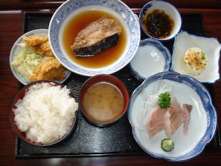 「金彦魚店」C定食