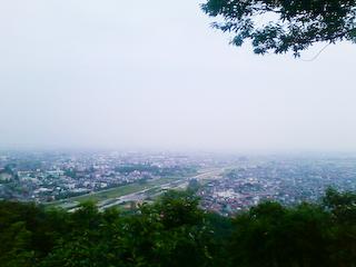 盃山山頂からの眺め