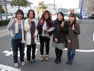 土井雪江さん、次の宿泊先へ