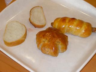 「ColonyBakery」くるみパン&ウインナーロール