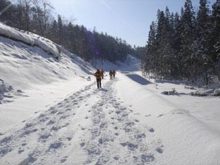 060121高取山snowshoe