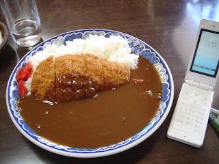 「民宿武蔵」カツカレー