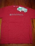 inhabitantロゴTシャツ赤M