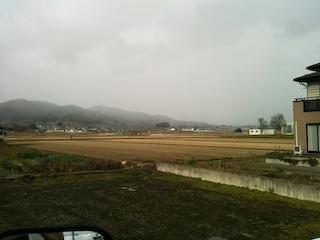 091215河北町の景色